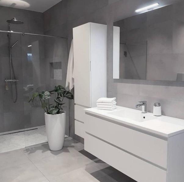 Zincirlikuyu Corian Banyo Tezgahı